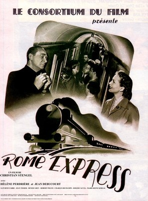 Rome-express - French Movie Poster (thumbnail)