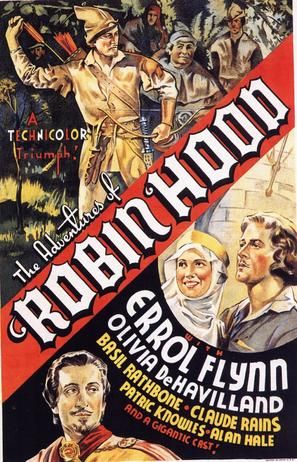 The Adventures of Robin Hood - Movie Poster (thumbnail)
