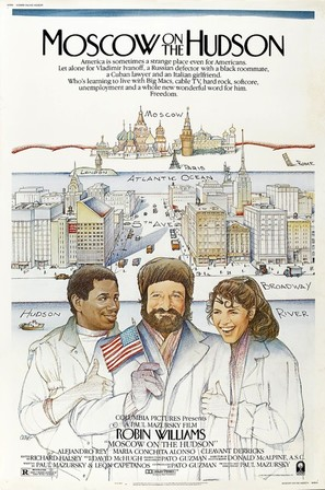Moscow on the Hudson - Movie Poster (thumbnail)