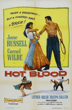 Hot Blood - Movie Poster (thumbnail)