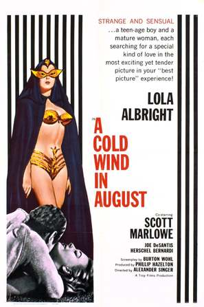 A Cold Wind in August - Movie Poster (thumbnail)