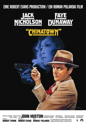 Chinatown - German Movie Poster (thumbnail)