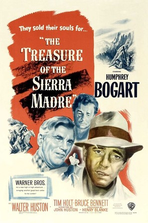 The Treasure of the Sierra Madre - Movie Poster (thumbnail)
