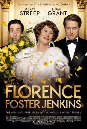 Florence Foster Jenkins - British Movie Poster (thumbnail)