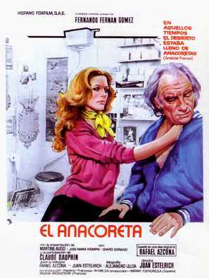 Anacoreta, El - Spanish Movie Poster (thumbnail)