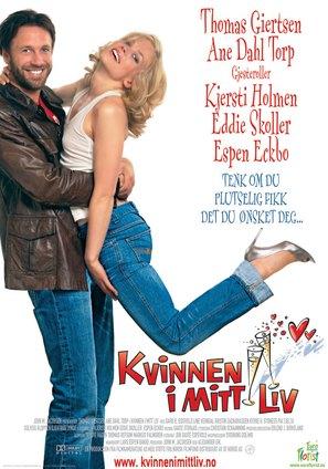 Kvinnen i mitt liv - Norwegian Movie Poster (thumbnail)