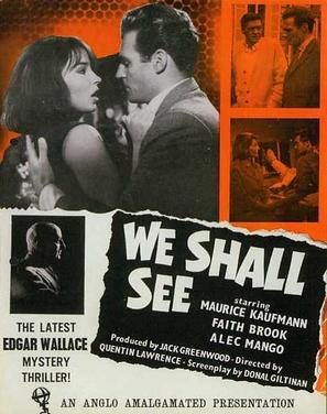 We Shall See - British Movie Poster (thumbnail)