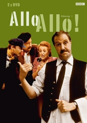 """'Allo 'Allo!"" - Swedish DVD movie cover (thumbnail)"
