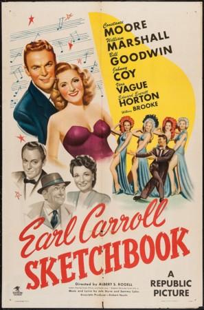 Earl Carroll Sketchbook - Movie Poster (thumbnail)