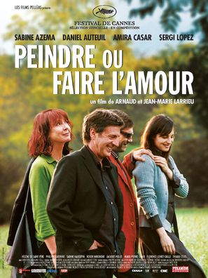 Peindre ou faire l'amour - French Movie Poster (thumbnail)