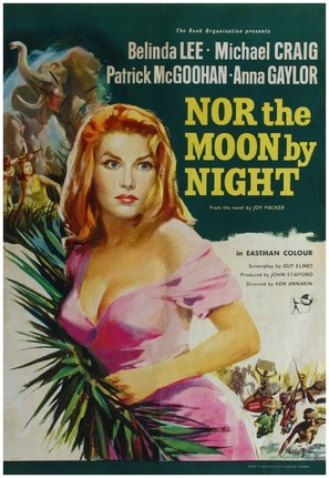 Nor the Moon by Night - British Movie Poster (thumbnail)
