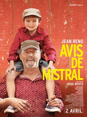 Avis de mistral - French Movie Poster (thumbnail)
