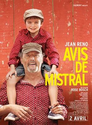 Avis de mistral - French Movie Poster (thumbnail)