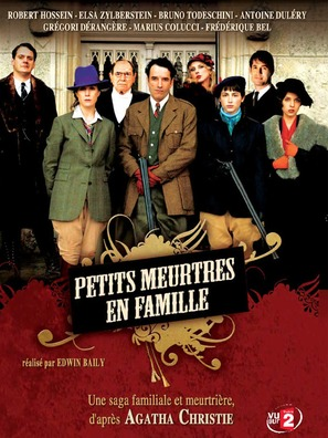 """Petits meurtres en famille"" - French DVD cover (thumbnail)"
