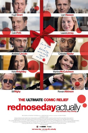 Red Nose Day Actually - British Movie Poster (thumbnail)