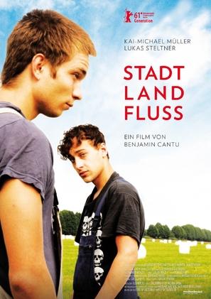 Stadt, Land, Fluss - German Movie Poster (thumbnail)