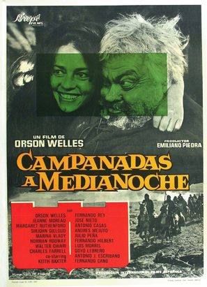 Chimes at Midnight - Spanish Movie Poster (thumbnail)