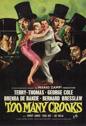 Too Many Crooks - British Movie Poster (thumbnail)