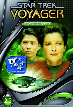 """Star Trek: Voyager"" - German Movie Cover (thumbnail)"