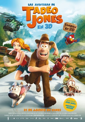 Las aventuras de Tadeo Jones - Spanish Movie Poster (thumbnail)