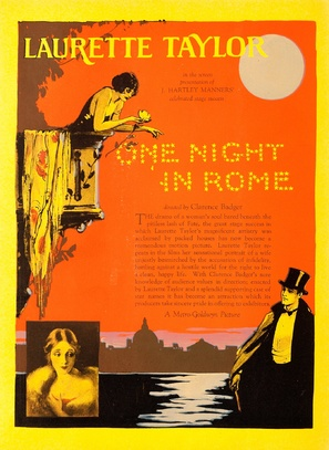 One Night in Rome - poster (thumbnail)