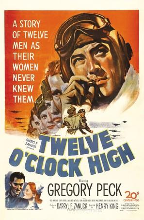 Twelve O'Clock High - Movie Poster (thumbnail)