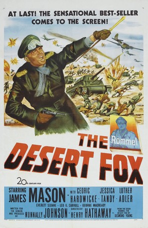 The Desert Fox: The Story of Rommel - Movie Poster (thumbnail)
