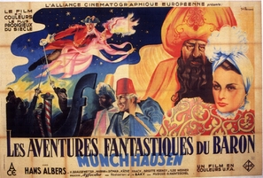 Münchhausen - French Movie Poster (thumbnail)