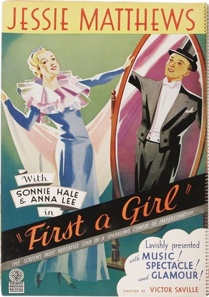 First a Girl - Movie Poster (thumbnail)