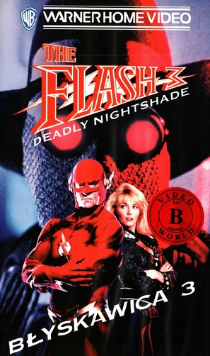 Flash III: Deadly Nightshade - Polish Movie Cover (thumbnail)