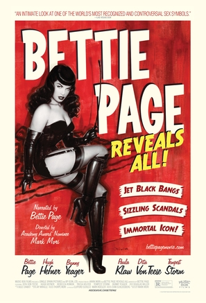Bettie Page Reveals All - Movie Poster (thumbnail)