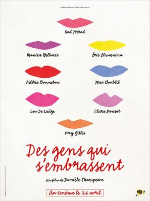 Des gens qui s'embrassent - French Movie Poster (thumbnail)