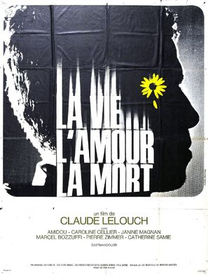 La vie, l'amour, la mort - French Movie Poster (thumbnail)