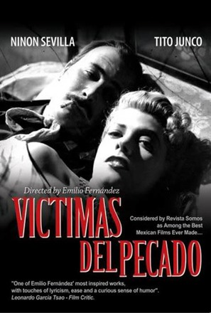 Víctimas del pecado - Mexican Movie Poster (thumbnail)