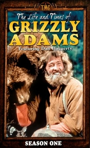 The Life and Times of Grizzly Adams - DVD movie cover (thumbnail)