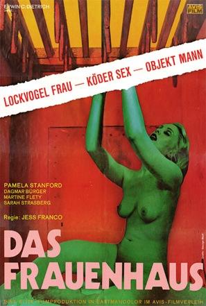 Das Frauenhaus - German Movie Poster (thumbnail)