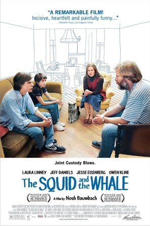 The Squid and the Whale - Movie Poster (thumbnail)
