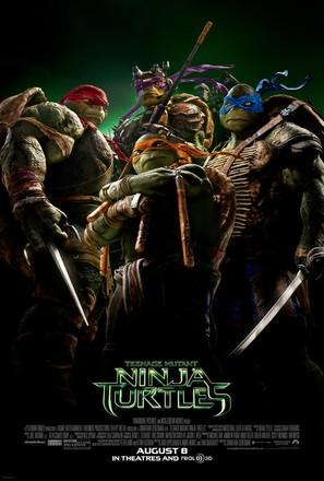 Teenage Mutant Ninja Turtles - Theatrical movie poster (thumbnail)