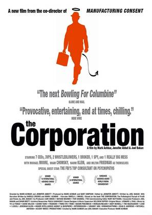 The Corporation - Canadian Movie Poster (thumbnail)