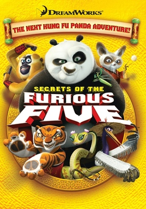 Kung Fu Panda: Secrets of the Furious Five - Movie Cover (thumbnail)