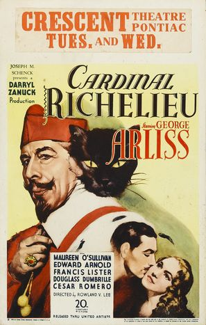 Cardinal Richelieu - Movie Poster (thumbnail)
