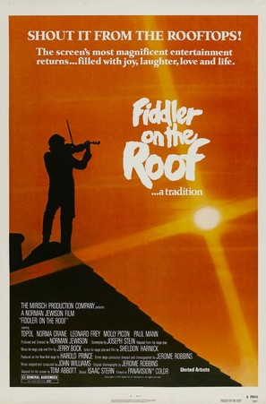 Fiddler on the Roof - Movie Poster (thumbnail)