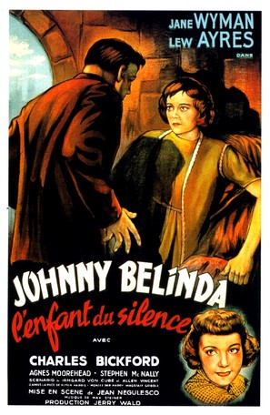 Johnny Belinda - French Movie Poster (thumbnail)