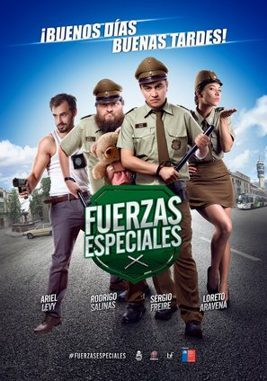 Fuerzas Especiales - Chilean Movie Poster (thumbnail)