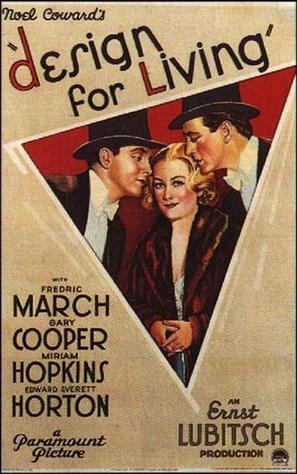 Design for Living - Movie Poster (thumbnail)