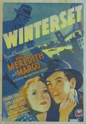 Winterset - Movie Poster (thumbnail)