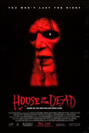 House of the Dead - Advance poster (thumbnail)