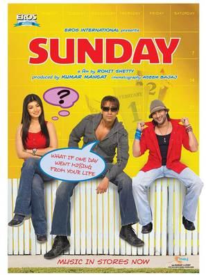 Sunday - Indian poster (thumbnail)