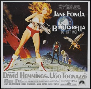 Barbarella - Theatrical movie poster (thumbnail)