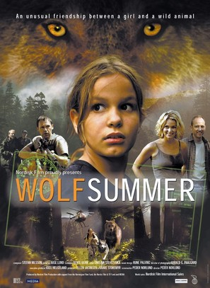 Ulvesommer - Danish Movie Poster (thumbnail)